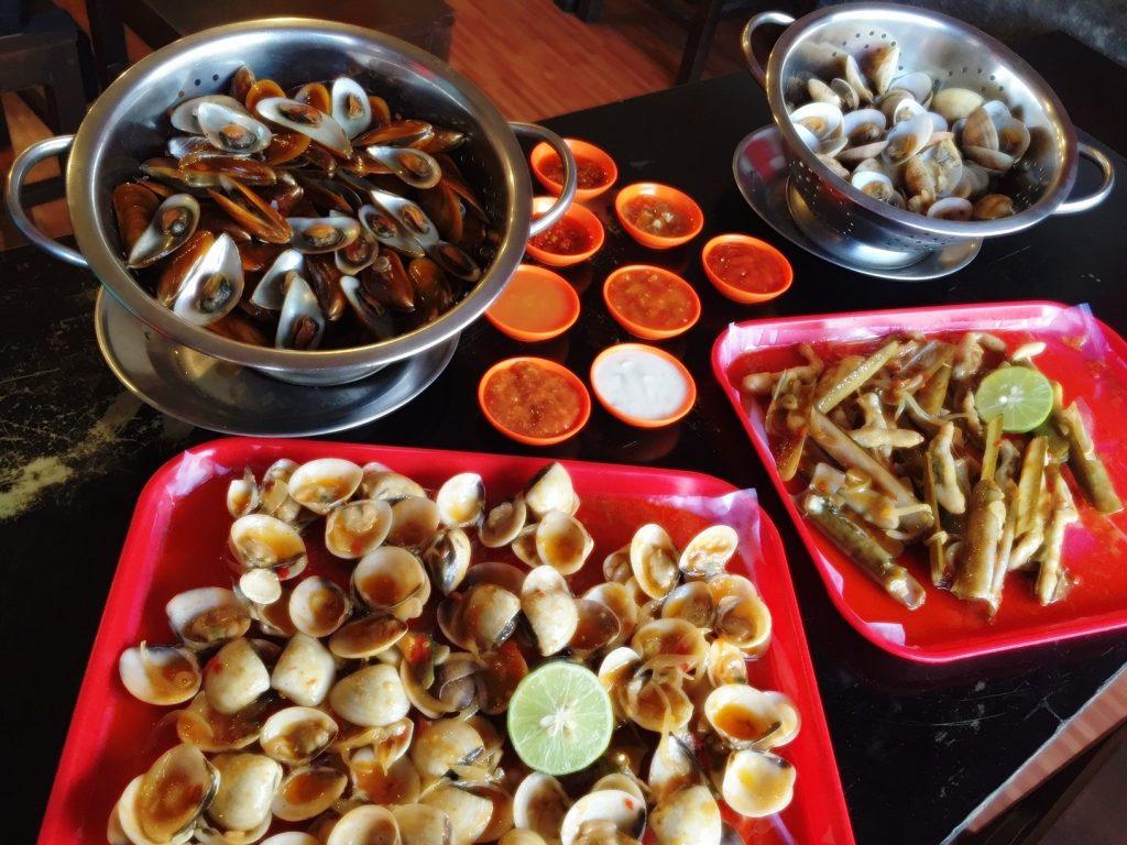 kerang kiloan seafood
