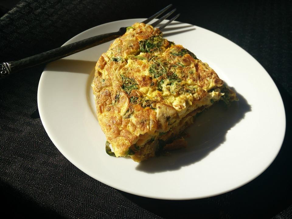 omelet kornet